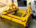 MS Cable Drum Trolley
