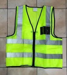 Polyethylene Orange Safety Reflective Jackets, For Traffic Control