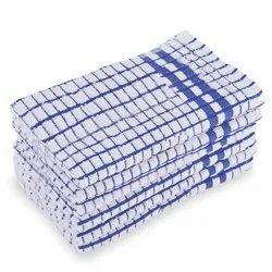 Check Cotton Kitchen Towels