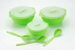 kite Rounded Serving Bowl Set, For Home, Size: 900 1800 2400