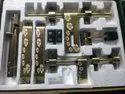 Antique Stainless Steel Door Kit