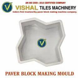 Star Paver Paver Block Making Mould