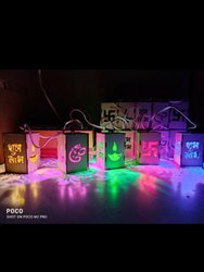 Decorative Labh Subh Led Light