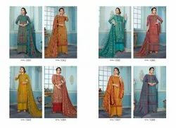 SVF Woolen Suits With Embroidery