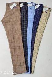 Blue Bond Cotton Trousers