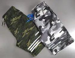 N2DK 100% Cotton Men Casual Shorts, Two Pockets