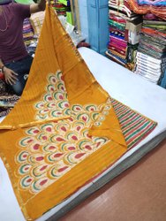Casual Chanderi Saree, 6.3, With Blouse Piece