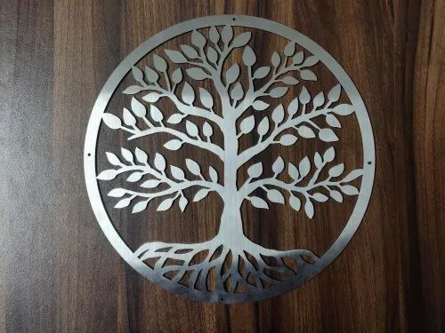 Moraya Home Decor Stainless Steel Wall Art Size 12 12 Rs 999 Unit Id 22876916762