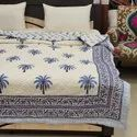 Machine Quilted Bedcover AC Blankets