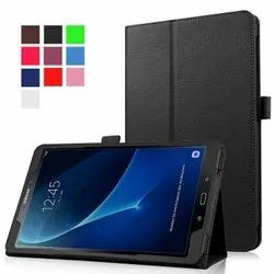 Leather Black SAMSUNG TAB A COVERS, For Homeb& Office, Size: 10 . 4 Inch