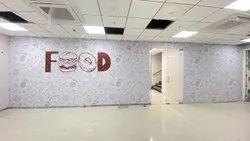 Vinyl Wall Branding Service, Pan India