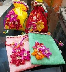 Gift bag Assorted Silk Potli Bags