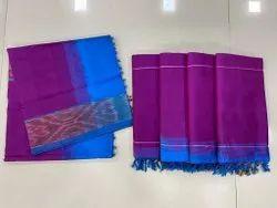 Pochampally Silk Saree With Blouse