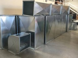 Electric Rectangular Duct, For Commercial