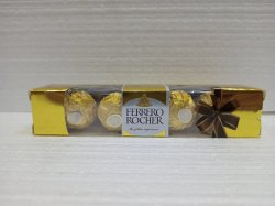 4 Piece Rectangular Ferrero Rocher