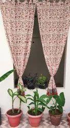 Beautiful Flowering Print Curtain