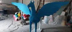 Fiber Decorative horse  Statue