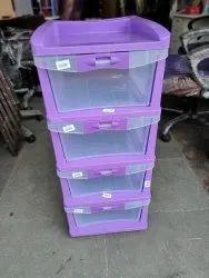 Nilkamal Chester 24 - 4 Drawer Cabinet