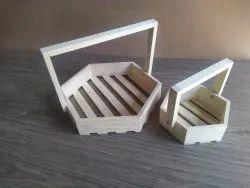 Wooden gift hamper