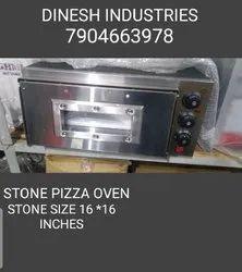 Single Deck Stone Pizza Oven