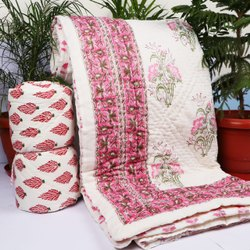 Hand Block Jaipuri Fine Quilt