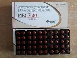 Mebeverine HCL 135 Mg Chlordiazepoxide 5 Mg