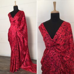 Ladies Designer Japan Satin Silk
