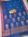Silk Linen Hand Weived Fish Jamdani Sarees