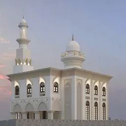 Latest Prayer hall interior Mosque Architectural Designing Services, Ahmedabad