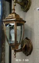 Warm White Down Antique Wall Lamp