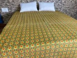 Block Printed Cotton Quilted Quilts