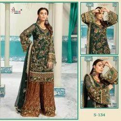 Cotton Pakistani Lawn Suit