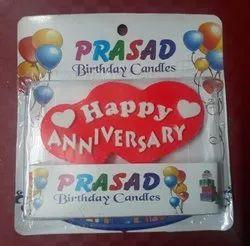 Prasad Happy Anniversary Candle