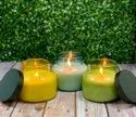 Teaditional ink pot scented candles