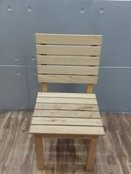 Light Color White Ash Wood Chair