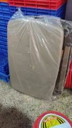 national red buscuit and brown Plastic Dining Table