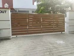 Stainless Steel HPL Gate