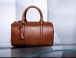 Leather Office Duffle Bag