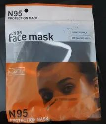 Reusable N95 Black Mask, Certification: Iso Ce Gmp