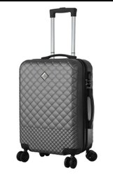 Black Polycarbonate Hard Luggage Trolley Bag