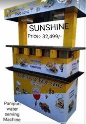 Pani Puri Water Serve Machine