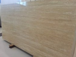 Sk Beige Travantino Marble, Application Area: Flooring, Thickness: 16 mm