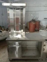 Shawarma Machine With Counter