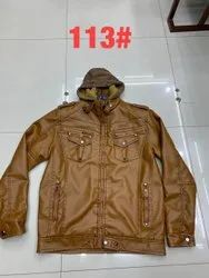 Full Sleeve Leather Type Mens Jackets