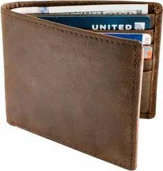 Male Black Leather Wallet