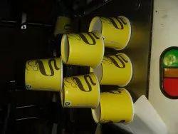 Shreenath Multicolor Paper Cups 100ml, Packet Size: 100 Piece