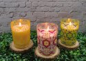 Printed Glass scented Candles