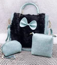 Mix colour Adjustable Combo Ladies Hand Bags, For Casual Wear