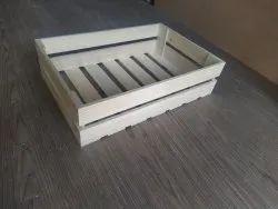 Pine Wood Gift Hamper Tray