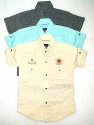 Cotton Party Wear Kids Boys Designer Shirt